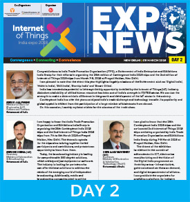 2nd IoT India expo 2018 Show Daily Day 2